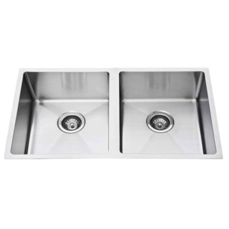 D88R-B Square Kitchen Sink 760*440*240mm