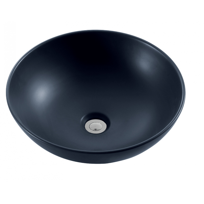 BL374 Matt Black Basin