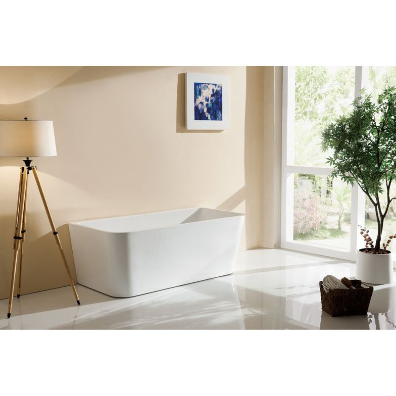 VU720 Back to Wall Free Standing Bath 1600*800mm