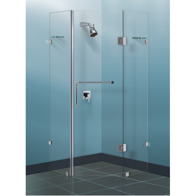 ML200 Diamond Shape Shower Screen